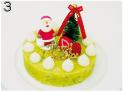 犬用アレルギー用クリスマスケーキ 4号サイズ(直径12cm)