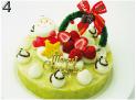 犬用アレルギー用クリスマスケーキ 5号サイズ(直径15cm)