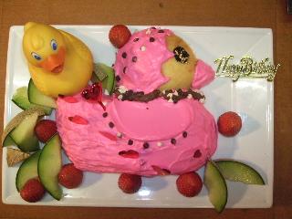 子供用のバースデーケーキ