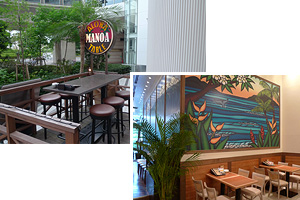 MANOA Aloha table