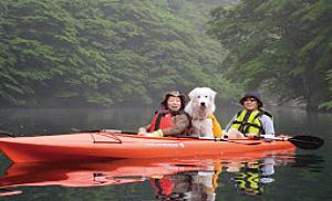 板室ダム湖カヌー体験ツアー