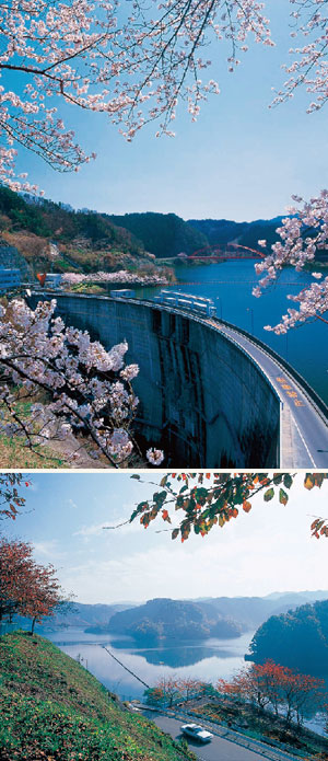 青蓮寺湖(しょうれんじこ)