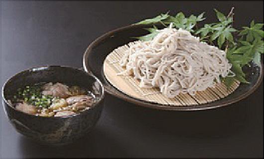 会津山都産そば粉を使ったお蕎麦