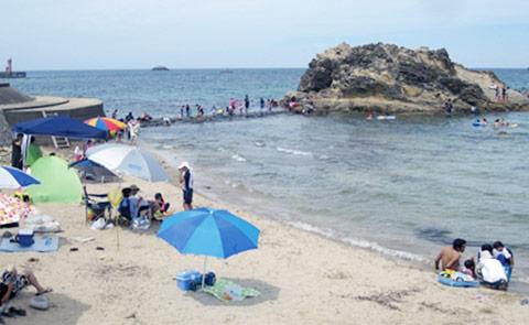 小天橋海水浴場 1