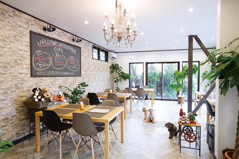 atTerrace KARUIZAWA GARDENFARM CAFE