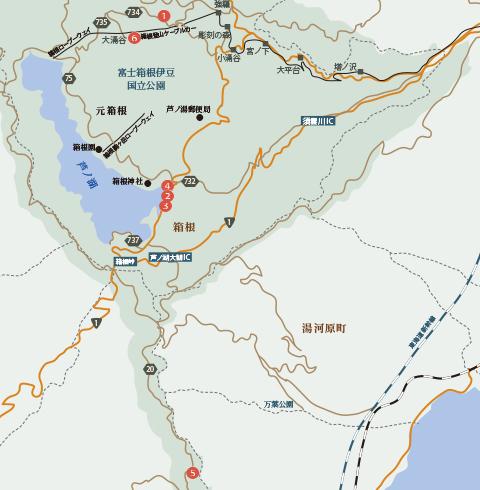 都心から気軽に行ける温泉リゾート「箱根」