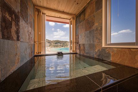 お部屋のお風呂は全て天然温泉です