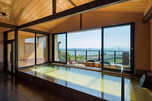 浜湖月の大浴場も利用可能