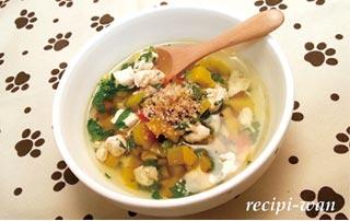 鶏むね肉と野菜のスープ煮