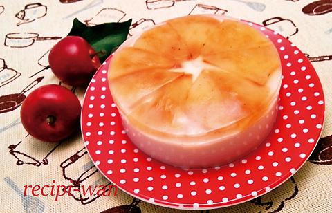焼きりんごとヤギミルクのゼリー