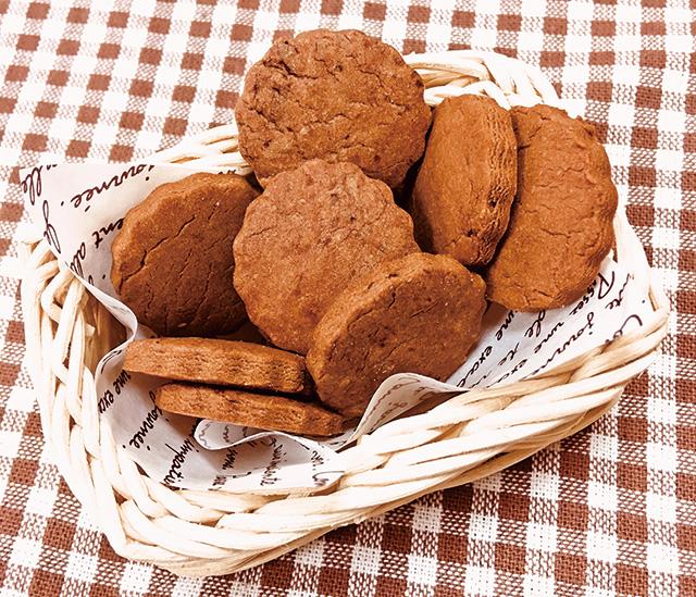 メイプルキャロブクッキー